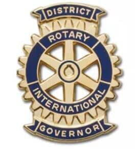 rotary club govenor